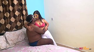 Indian Bhabhi Shanaya Seducing Her Husband After Hectic Day