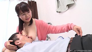 Japanese mom moans of lust and pleasure during intense XXX
