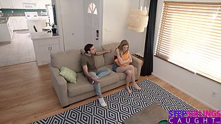 Haley Reed And Jake Adams In Horny Step Sister Takes It Out On Her Brother! S10:e8