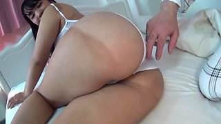 Horny adult clip Brunette hottest watch show