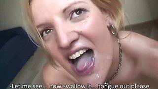 SeXtreme - Bukkake Cum Swallowing #12 - PolishCollector