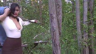 walk in woods bondage