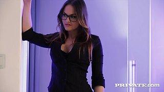 Private.com - Secretary Barbara Bieber Fucks Her Boss in the Office