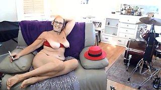 Crotchless Smoking Granny