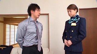 Akiho Yoshizawa in Pantyhose Leg Queen