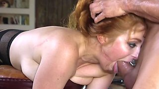Security officer beats a confession out of Penny Pax by anal fuck