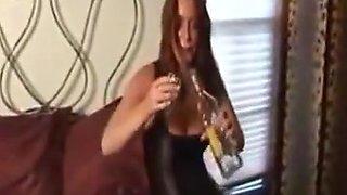 mom getting drunk