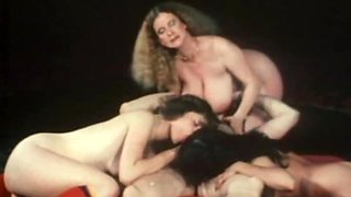 Classic Sex Orgy in the Club