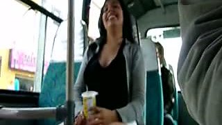 Flashing in the bus