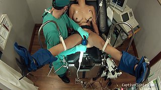 Human Guinea Pigs Part 13 Of 14 - Captive Clinic Com - Latina Get Experimented On By Doctor, Tricked & Humiliated 10 Min With Phoenix Rose