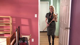 Brazzers - Hot And Mean -  Head Mistress Goes