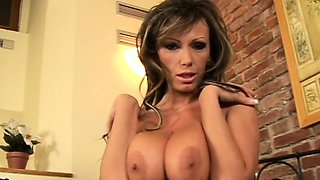 Angelic woman Pandora fucked by monster python