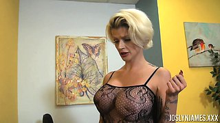 Milf Joslyn James likes nothing as much as having her cooch boinked