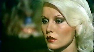 Sweet and elegant blondie watches how brunette chick sucks dick