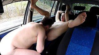 Sheriff Mirek Buying Street Prostitute for Ass Licking