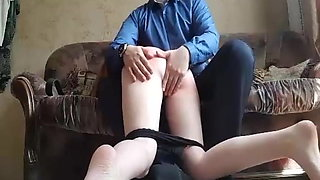 spanked his neighbor