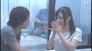 Game show one-way mirror: Brother and sister  02