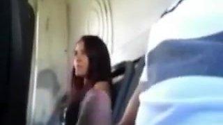 Daring Girl Jerks Off Stranger in Public Bus