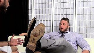 Hawt foot fetish for homo boys in smashing nude home scenes