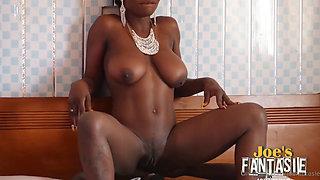 busty african fulfills joe's fantasie