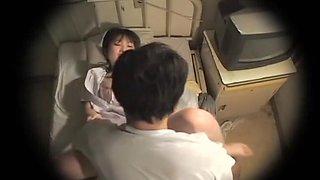 Perfect Asian nurse gets some Japanese hardcore dicking