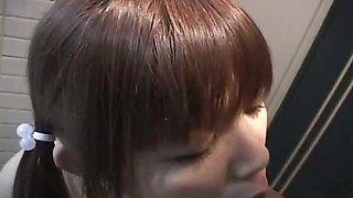 Super hot Japanese babe flashing