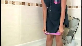 Hottest Japanese whore in Amazing Amateur, Shower JAV clip