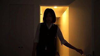 Sensual Japanese babes show off their oral talents in POV