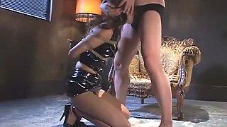 Exotic Japanese girl in Horny Fetish, Latex JAV video