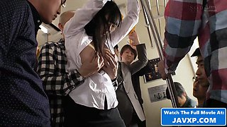 Beautiful Japanese Teen Schoolgirl On The Bus