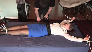 Bitch Boss Kidnapped Bed Bound By Zip Ties by Ex Employee
