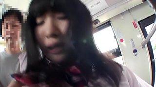 Amazing Japanese slut Satomi Nomiya in Crazy college, public JAV scene