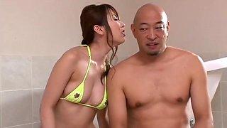 Yui Hatano in Bukake Jukujo 7