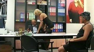 Slut Gets Ass Fucked At Job Interview