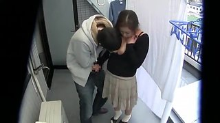 Western student fucks japanese mother and daughter