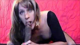 Sissy vikki cute crossdressing cocksucker