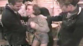 Vintage italian gangbang orgy 3 on 1 dp anal