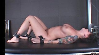 Sex ropes used on a horny BDSM slave