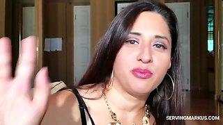 Arab milf takes bbc