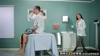 Brazzers - Doctor Adventures - Dick Stuck In Fleshlight scene starring Briana Banks Nikki Benz