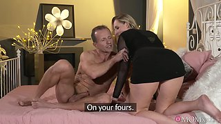 Horny dude with a stiff cock fucks his desirable wife Jenny Simons