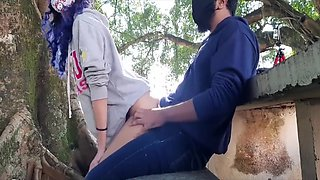 Cheating My Wife With Her Bestfriend In A Public Park - Risky Outdoor Fuck