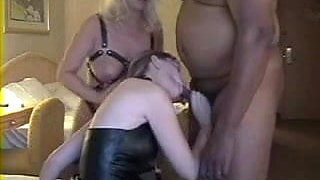 Slaved Wife Swapping Cum with Mistress