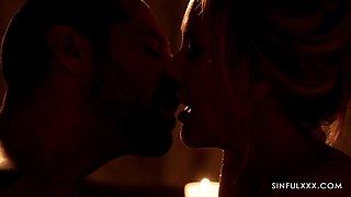 Beautiful intimate sex video featuring seductive woman with perfect body Brandi Love