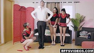 Foursome Flamenco Fucking With 3