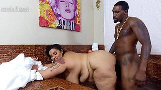 Busty Bbw Latina Bbw Spa-several Pauses In Video 1080p