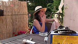 Amazing amateur Brunette, Solo Girl sex video