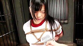 SM Akane Kyoto Bite Lori Bondage For The First Time