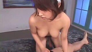 Amazing Japanese model Miku Ohashi in Hottest Fingering, Cunnilingus JAV scene