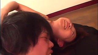 Japanese Wrestling Femdom